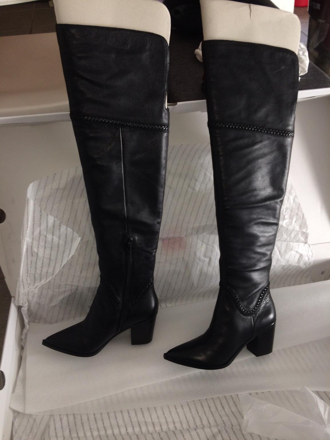 dbd0c3975e8 New ALDO Olena leather over the knee boots in EN2 Enfield for £50.00 for  sale - Shpock