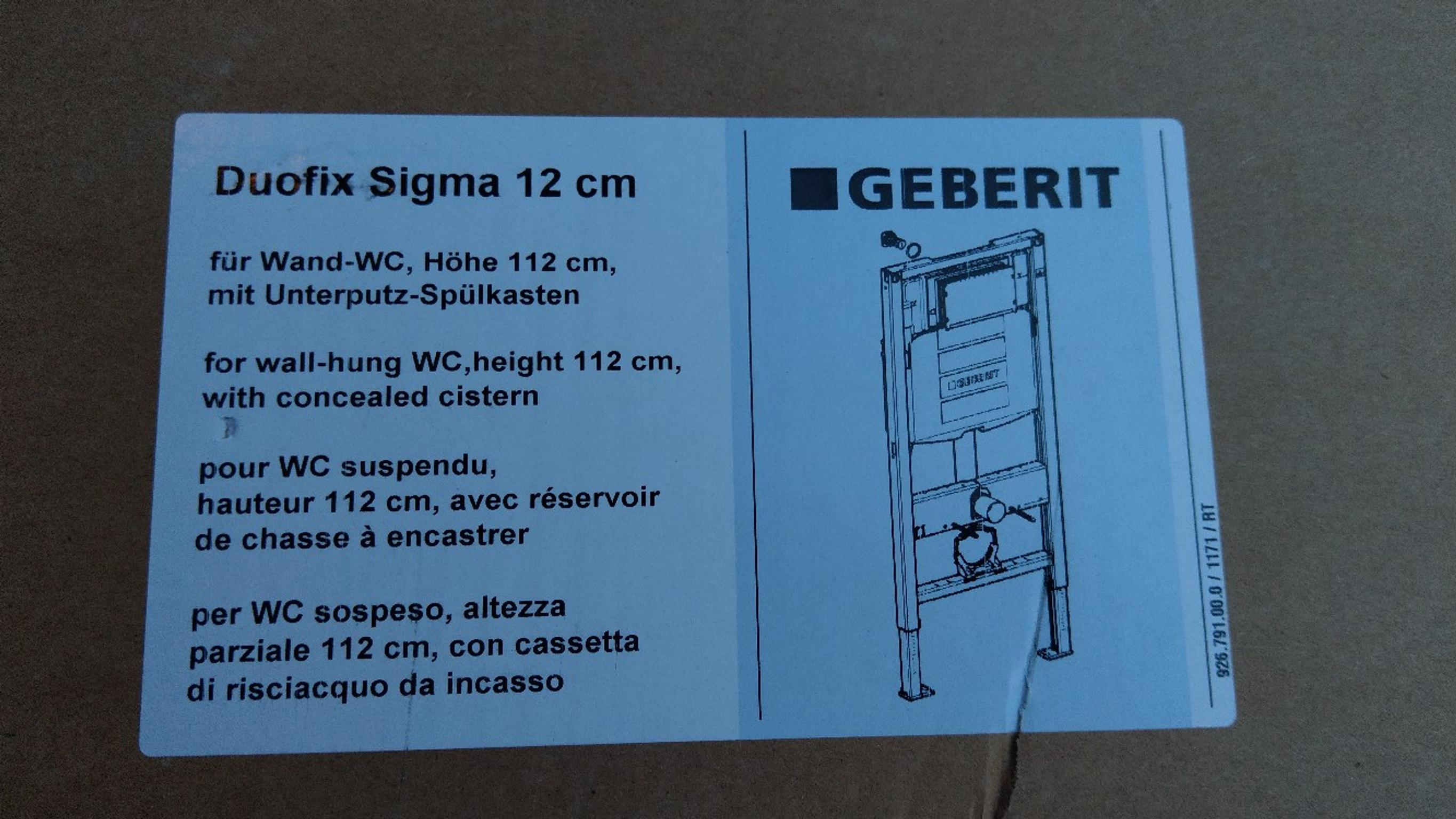 Toilet Set Geberit Ideal Standard