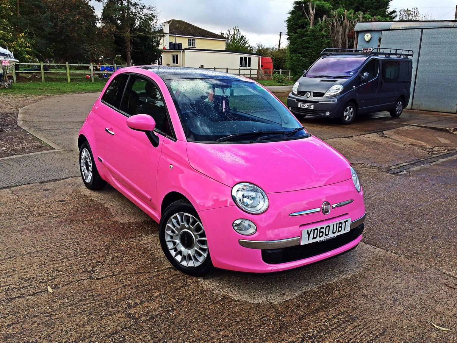 Pink Fiat 500 In Co2 Colchester For 3 000 00 For Sale Shpock