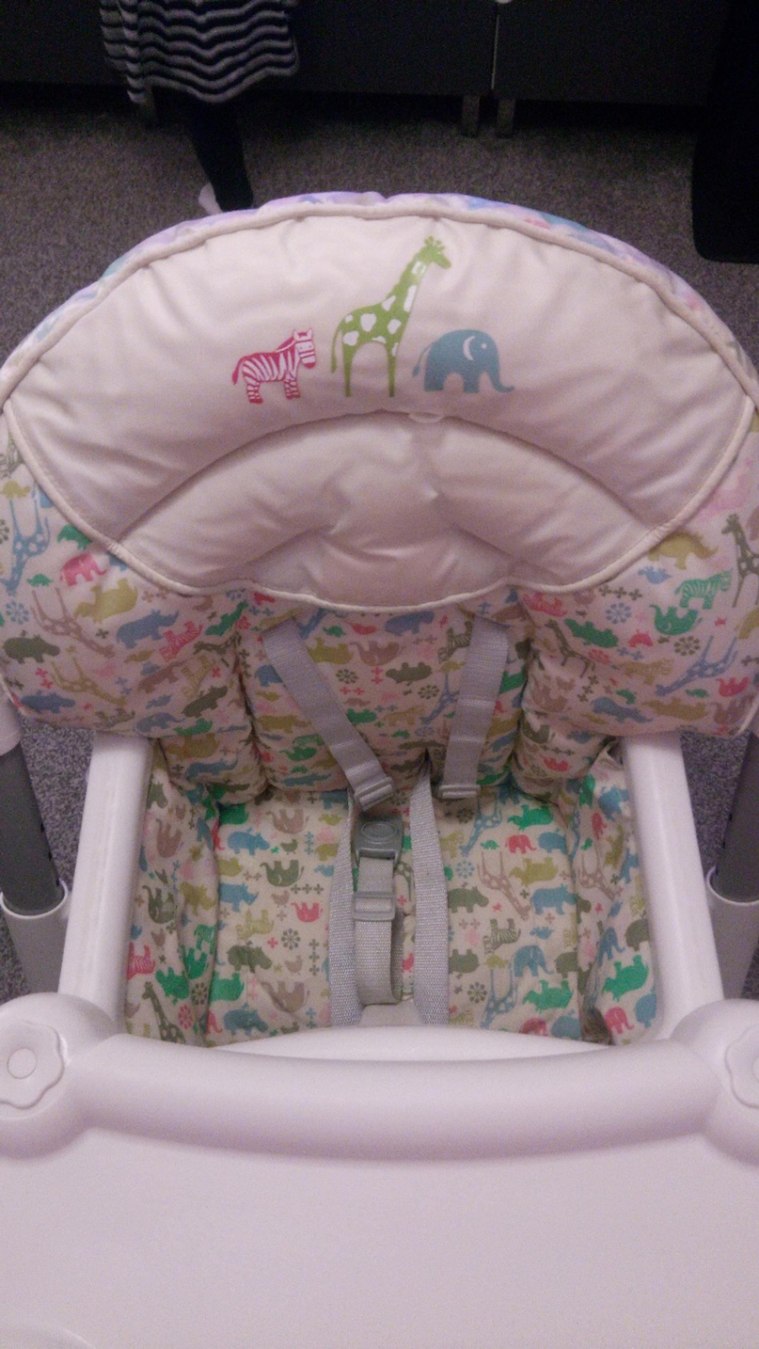 Graco Contempo Highchair-Watney 6 Height 3 Recline Positions Baby Feeding Chair
