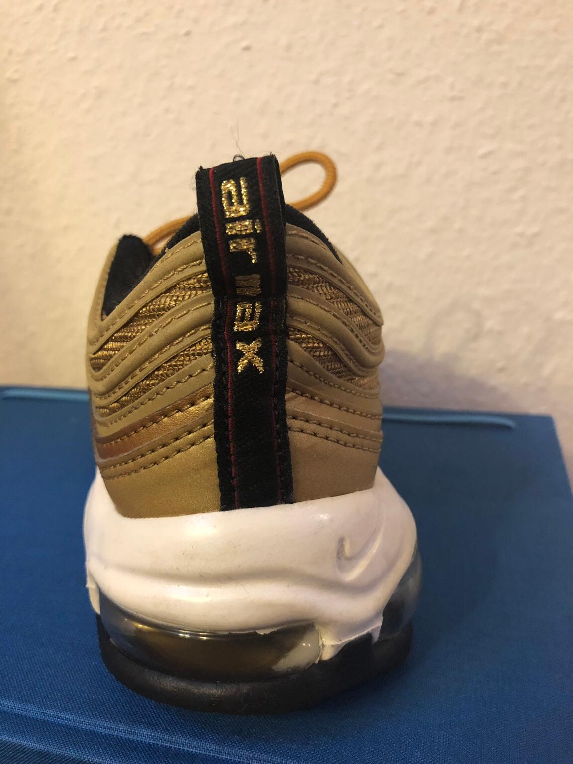 Nike Air Max 97 (gold) Damen, Gr. 40,5