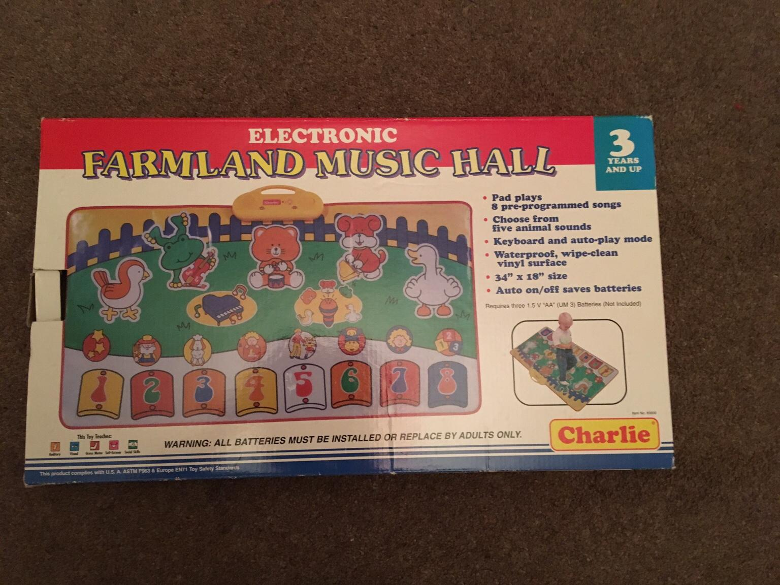 CHARLIE ELECTRONIC FARMLAND MUSIC HALL-Age 3+
