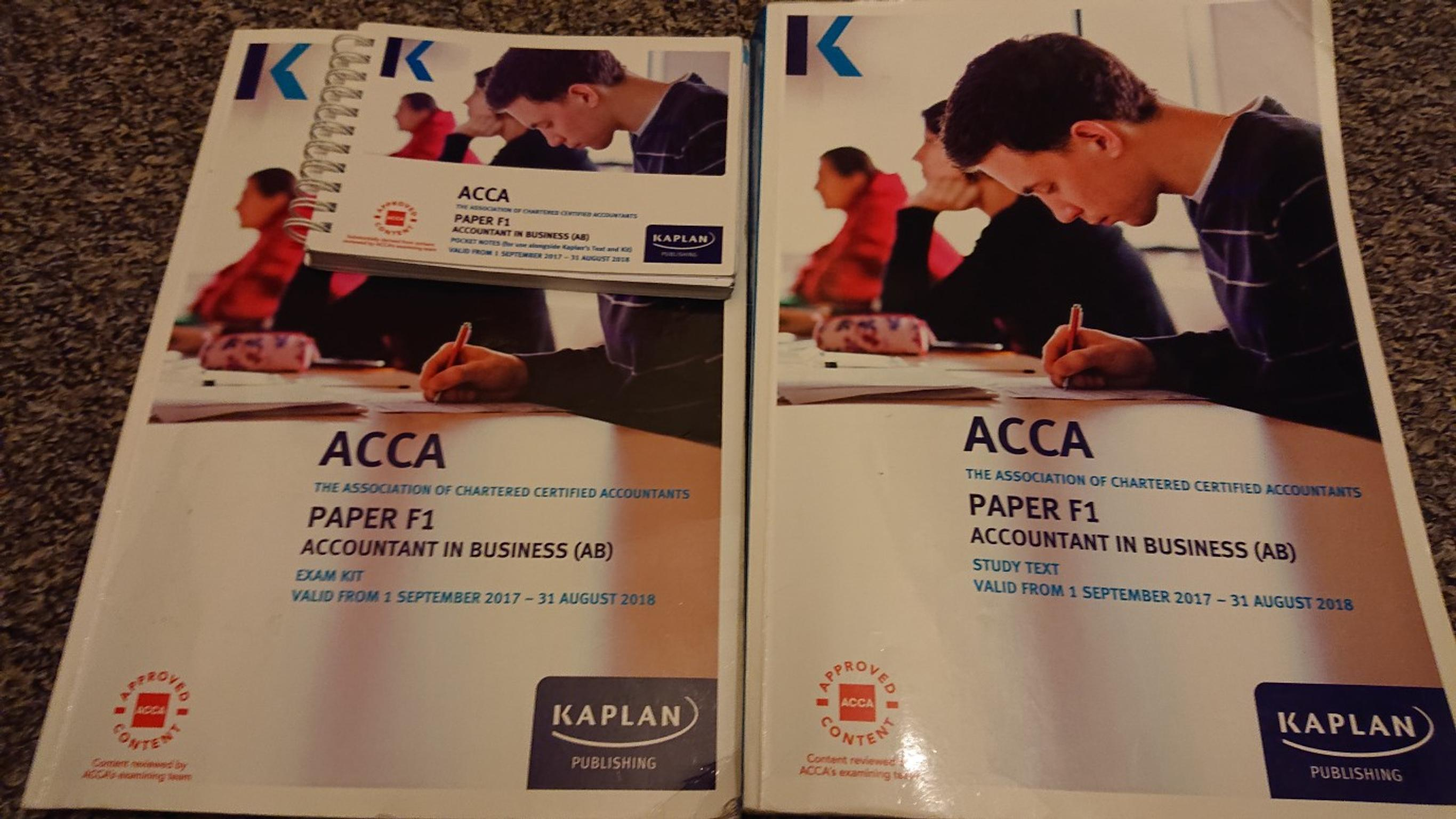 How To Pass Acca F1