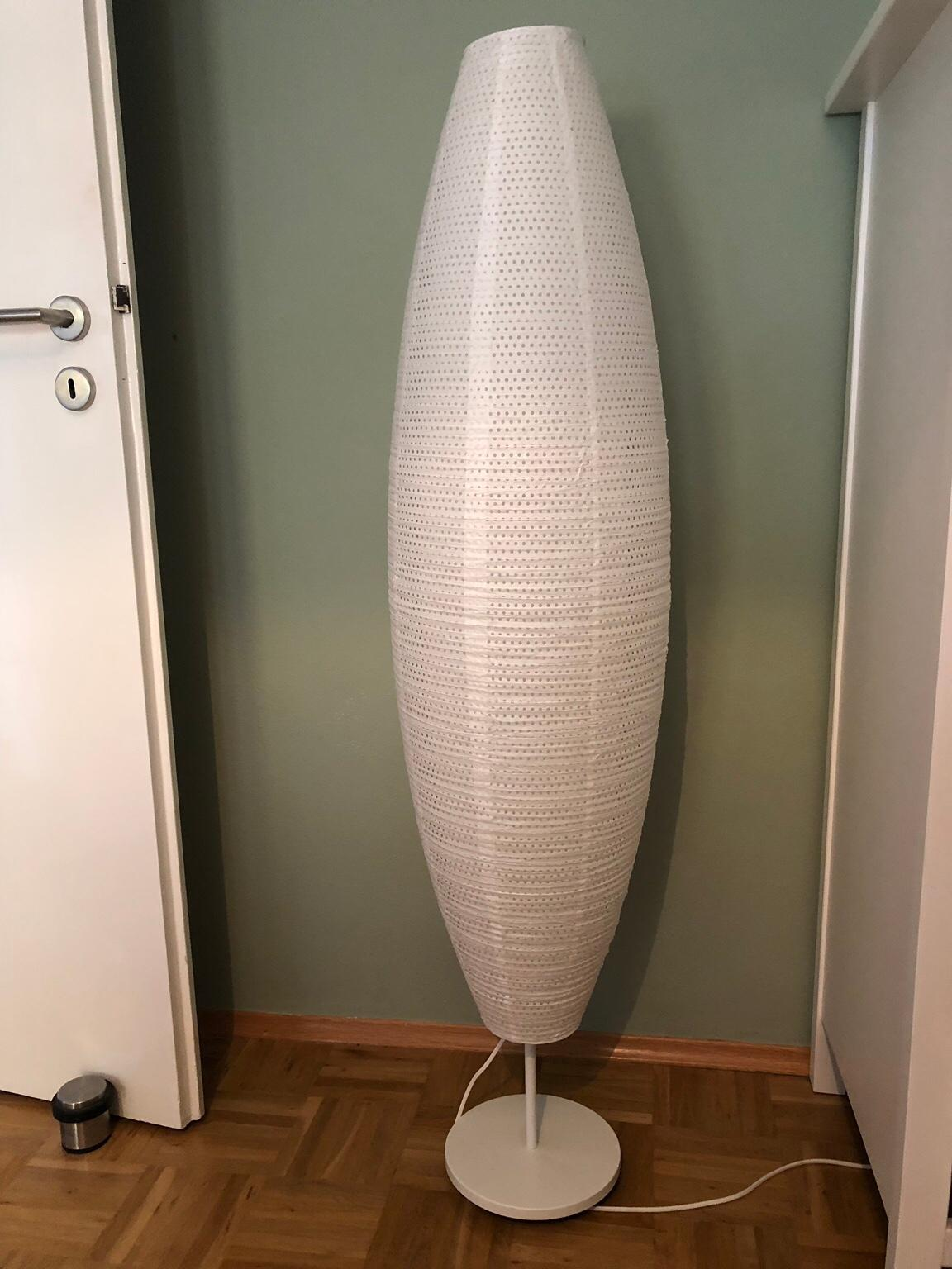Ikea Stehlampe Aus Papier Weiss In 76229 Karlsruhe For 5 00 For