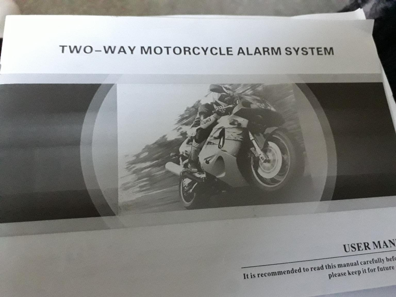 Spy 5000m Two Way Motorcycle Alarm In