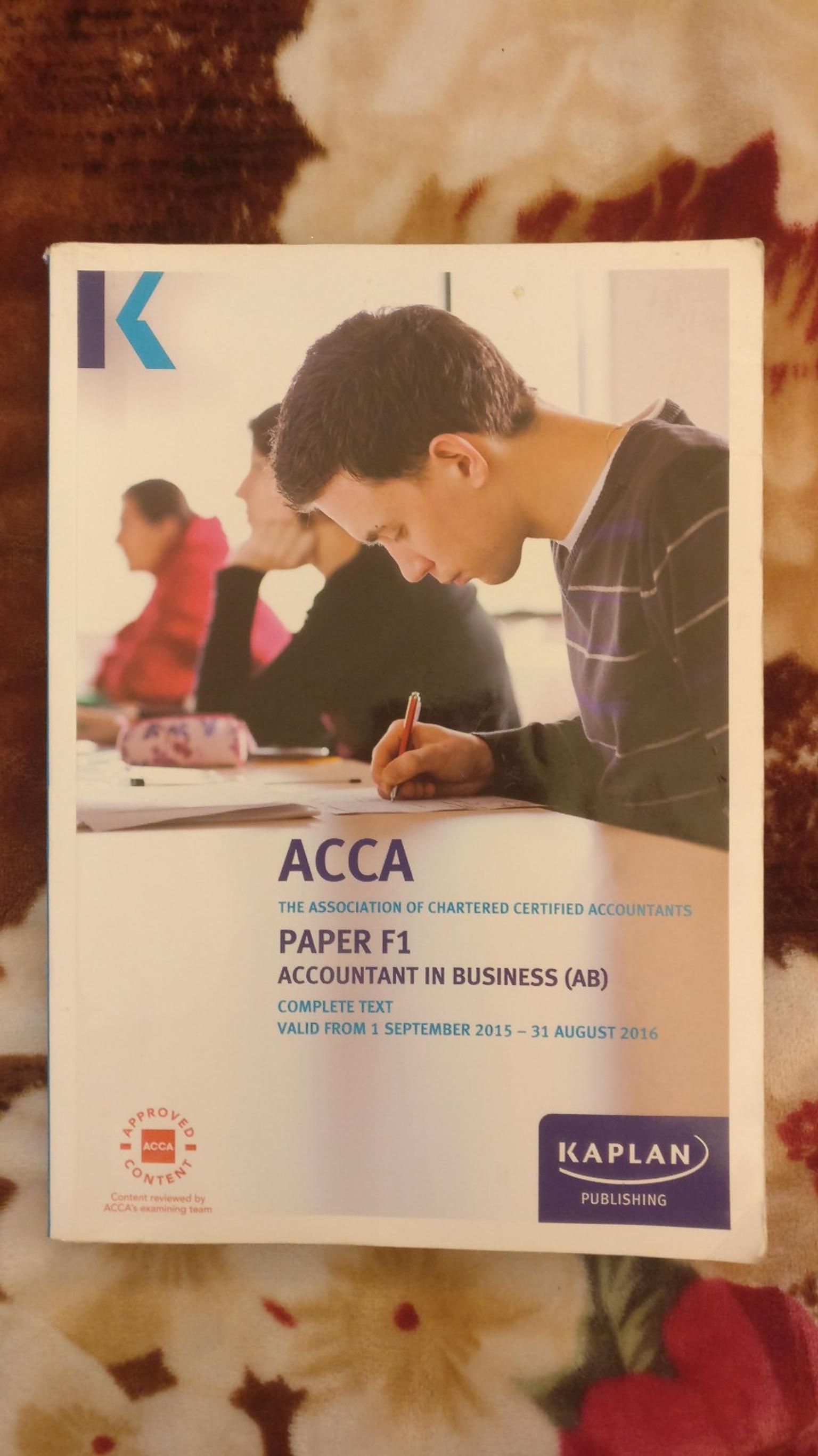 ACCA PAPER F1 ACCOUNTANT IN BUSINESS