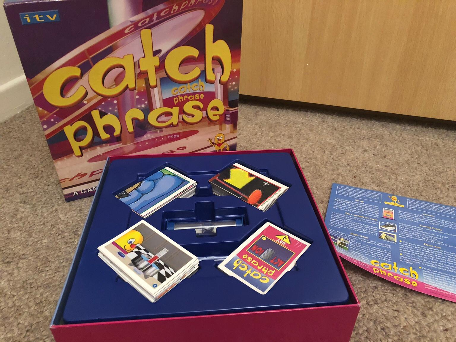 Case Blue Board Game : Catchphrase board game in s62 rotherham for £5.00 for sale shpock