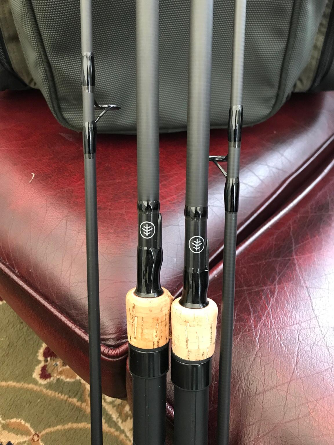 Wychwood riot 9ft carp rods