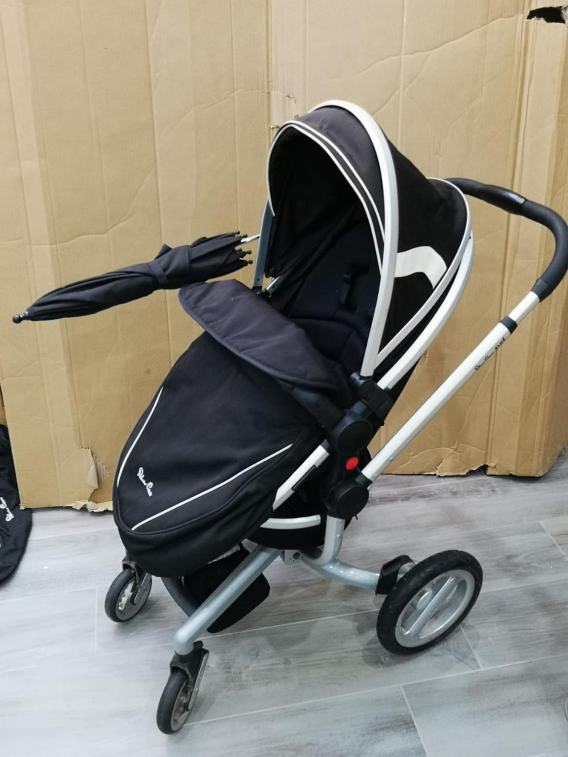 Silver Cross Surf and Surf 2 pram insect net mosquito //