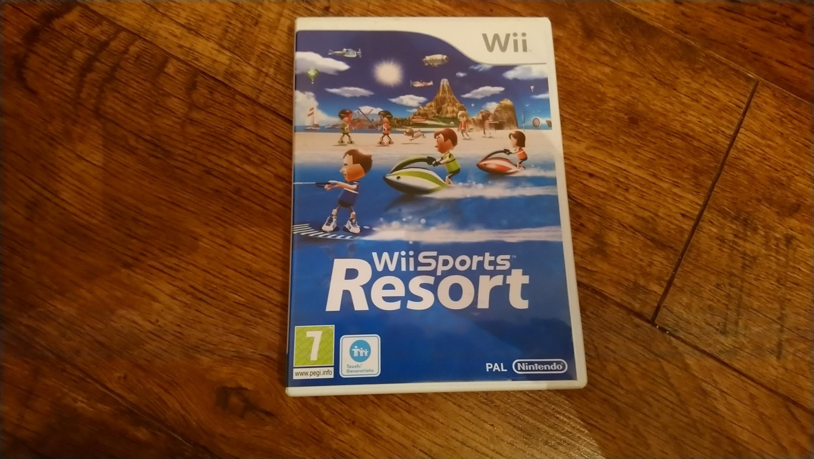 wii sports resort game