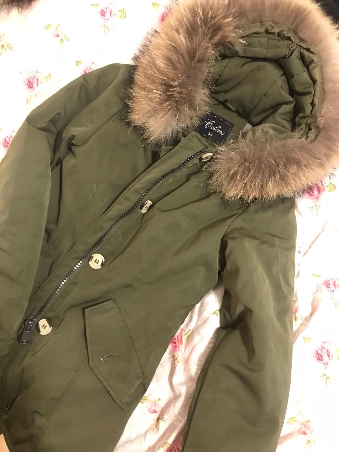H&M DIVIDED HM Super Parka Winterjacke Damenparka warm