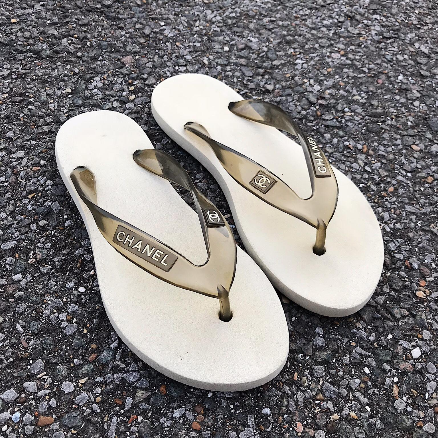 c067fa9a8ac7 Chanel flip flops in GU33 Hampshire for £50.00 - Shpock