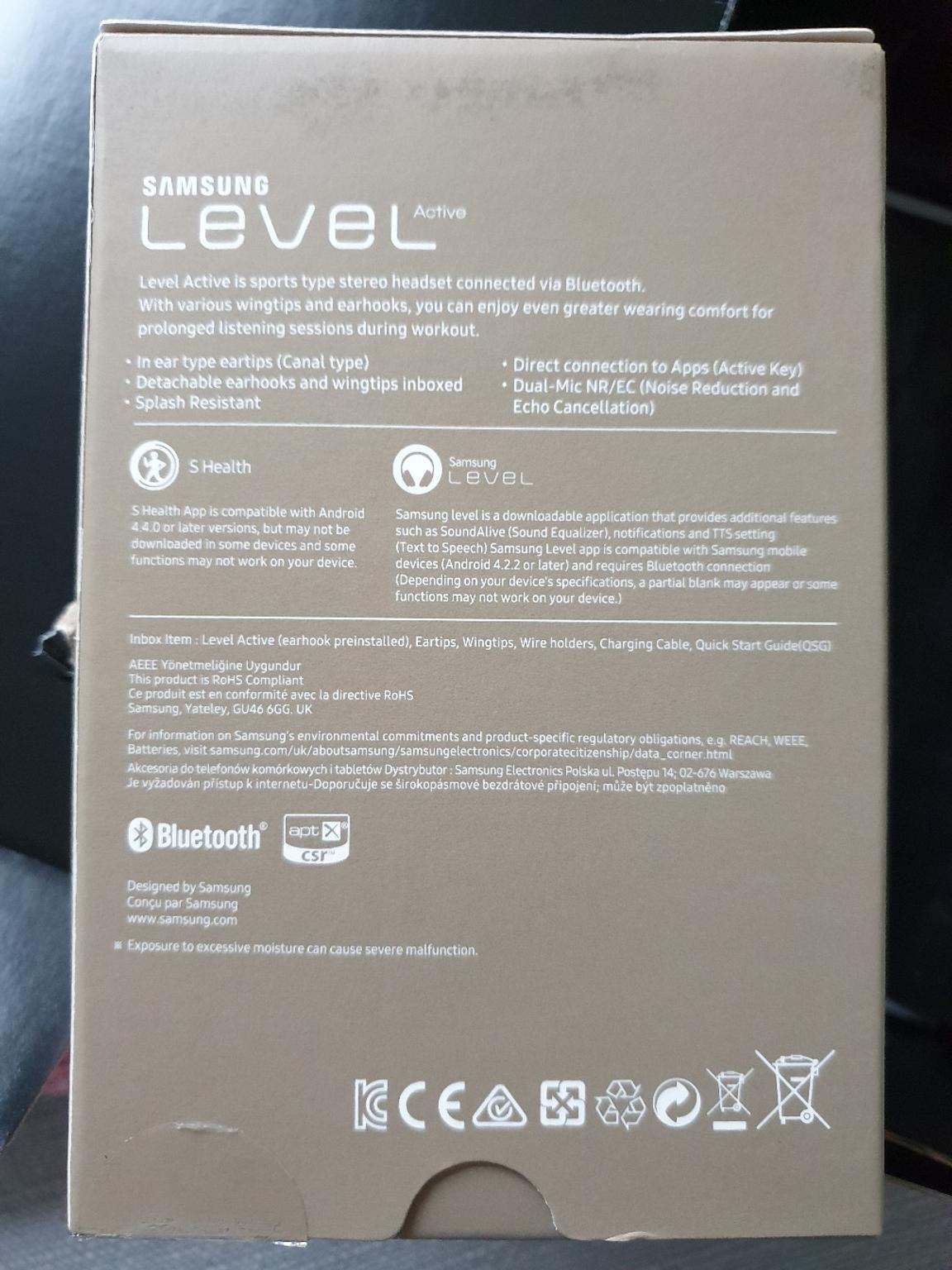 Samsung Level Active Bluetooth Headphone In Rm8 London For 40 00 For Sale Shpock
