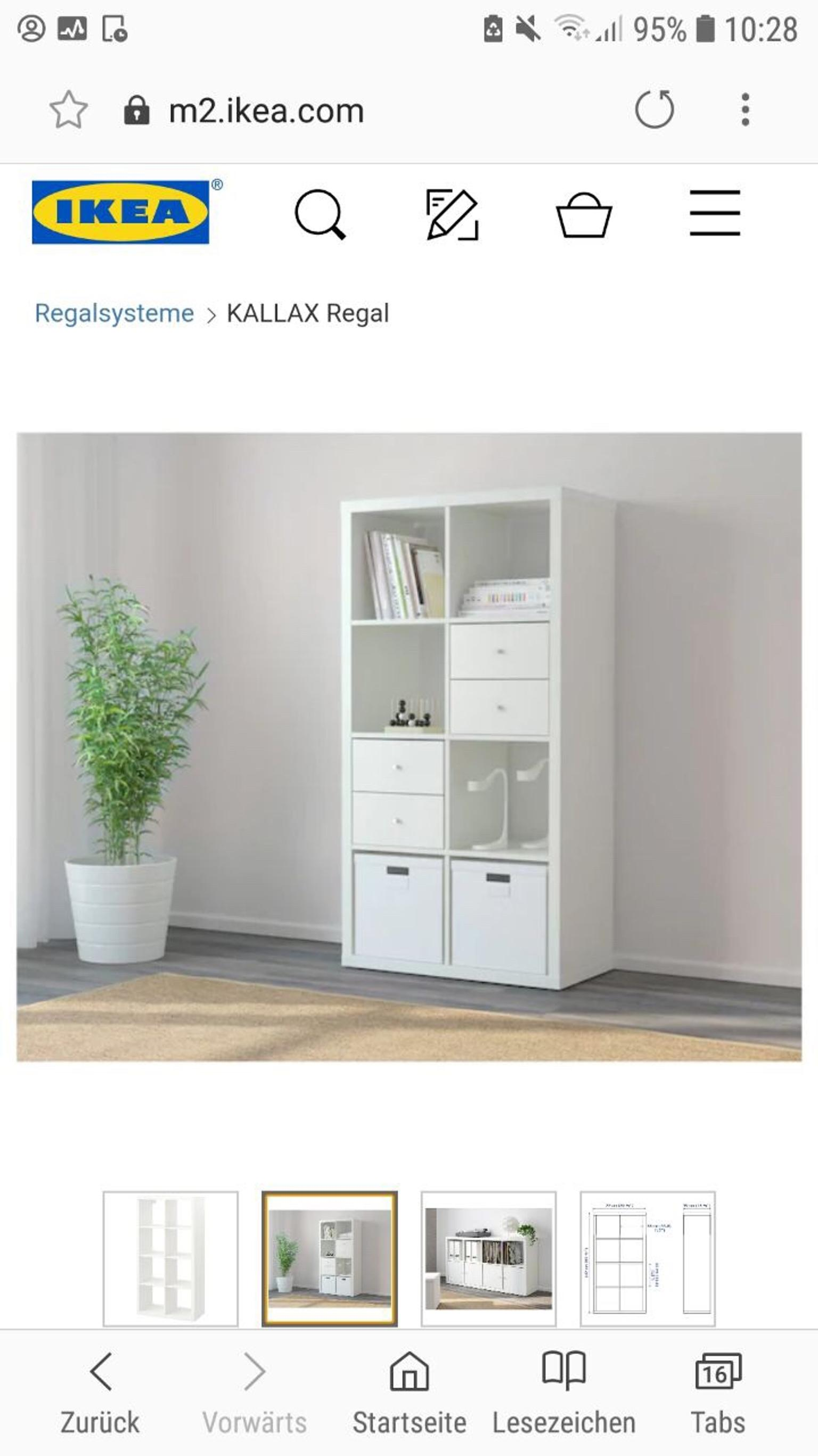 IKEA KALLAX Regal 147x77cm NEU OVP in 55118 Mainz für € 60
