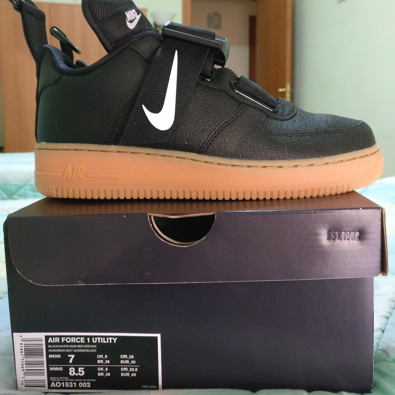 air force 1 bianche 40
