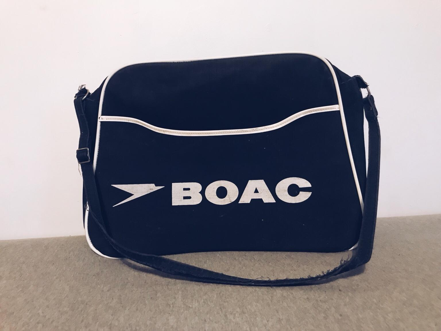 Vintage BOAC Bag (as used by The Beatles)