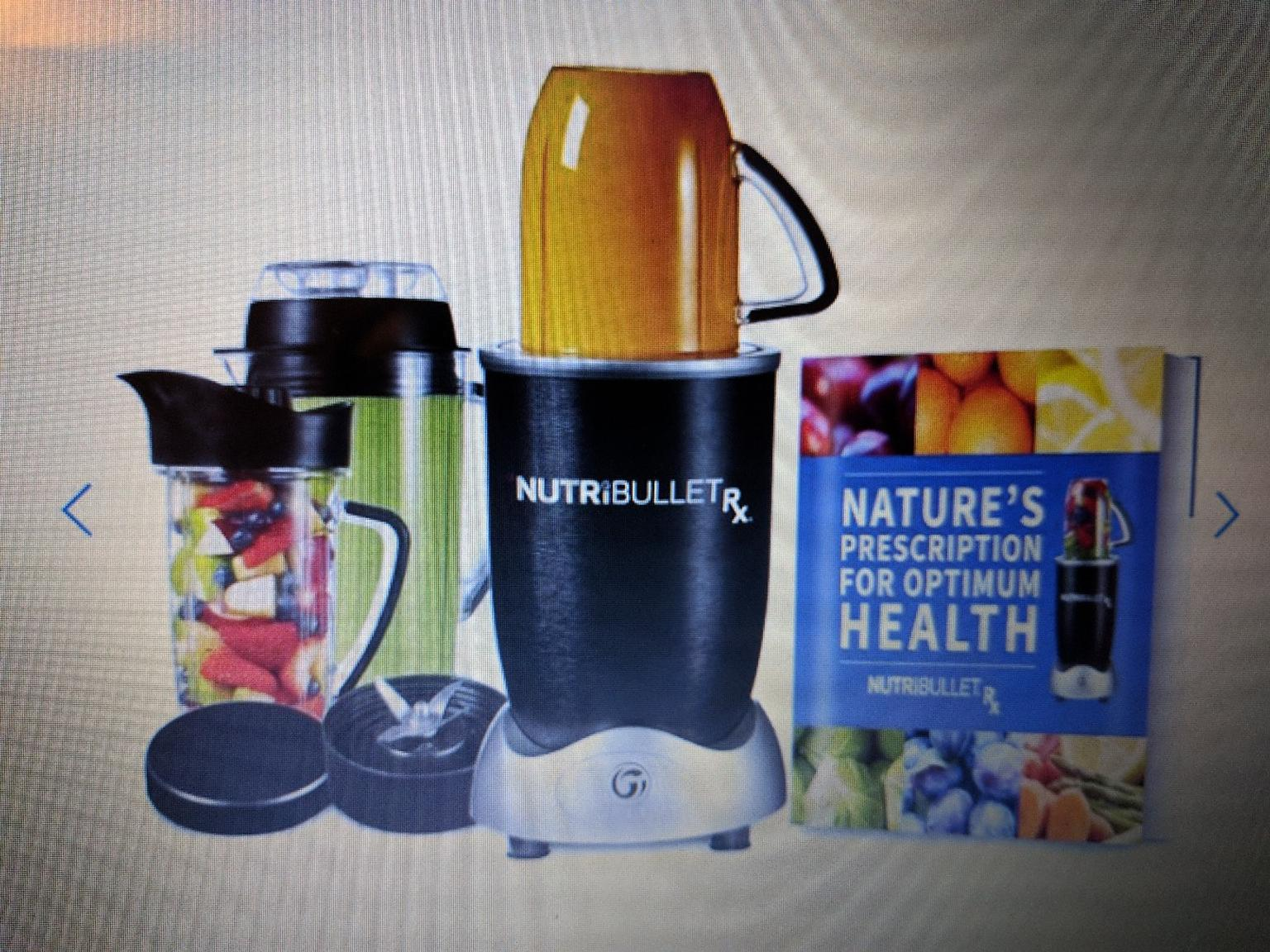 Brand New Box NutriBullet RX with Recipe Book