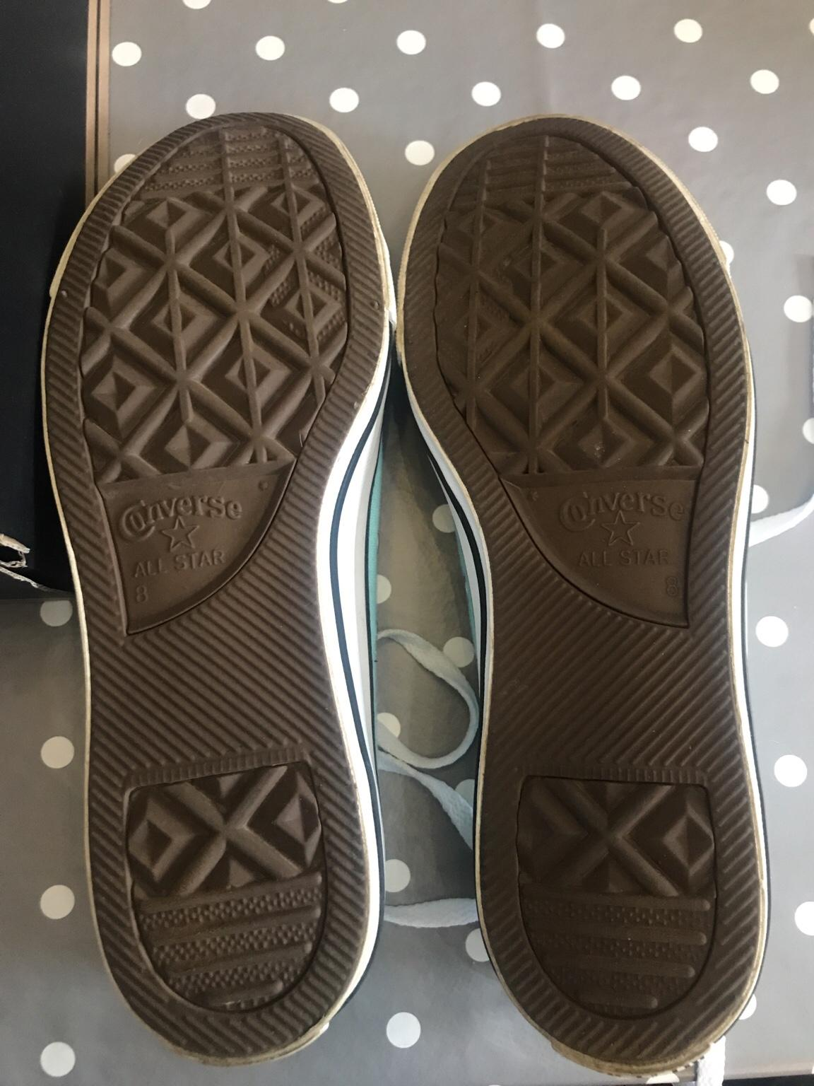 Size 8 Converse All Star trainers
