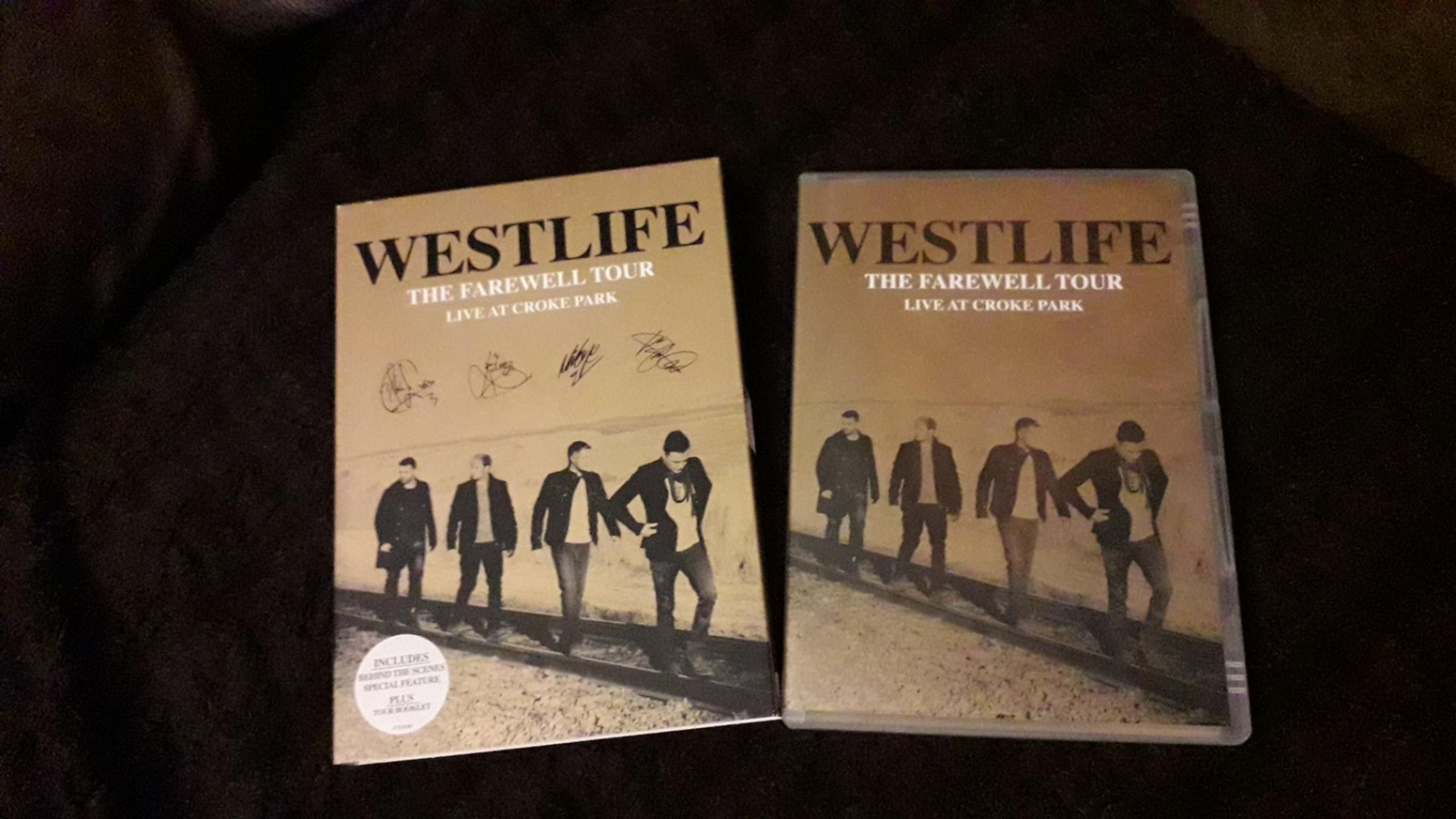 Westlife farewell tour DVD