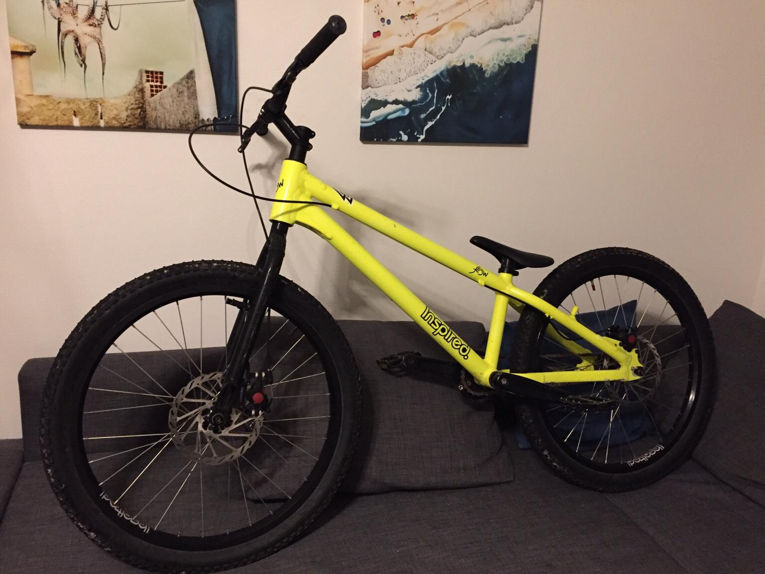 Inspired Flow 24 Street Trial Bike 2018