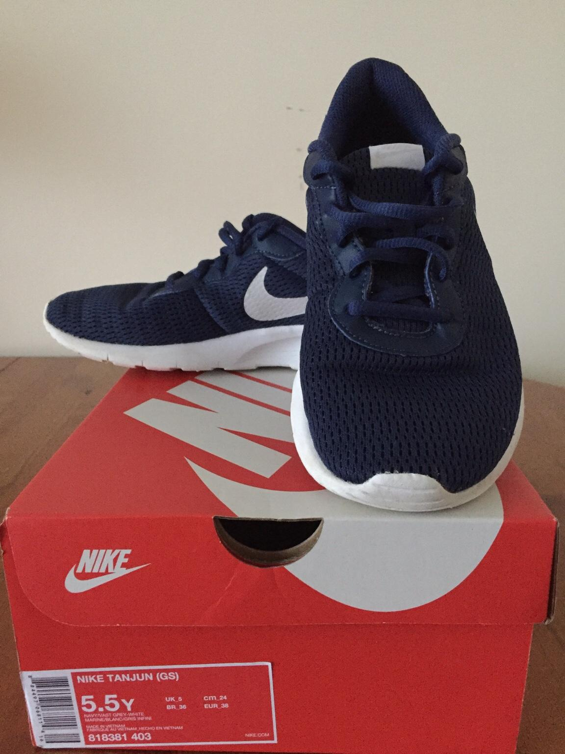 new product online for sale differently Boys Nike Tanjun Running Shoes UK Size 5 in DA12 Gravesham für 8 ...