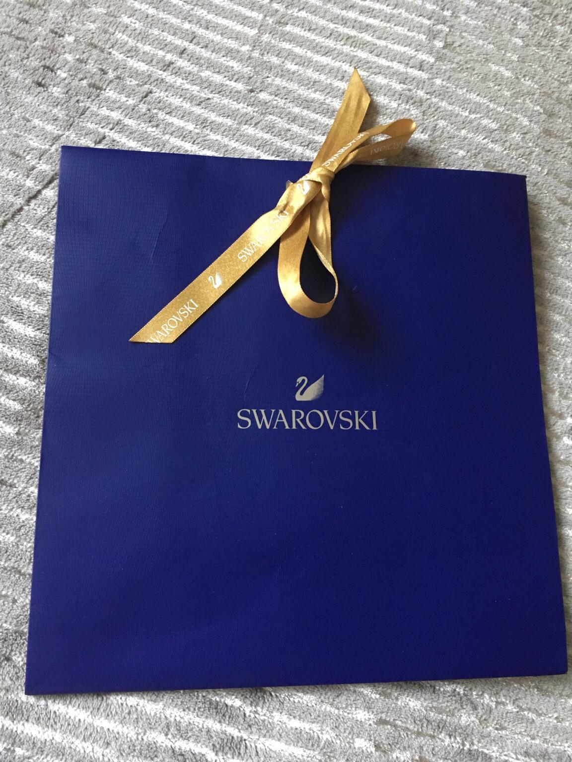 a762293004 Swarovski gift bag with ribbon in S40 Chesterfield for £2.00 for ...