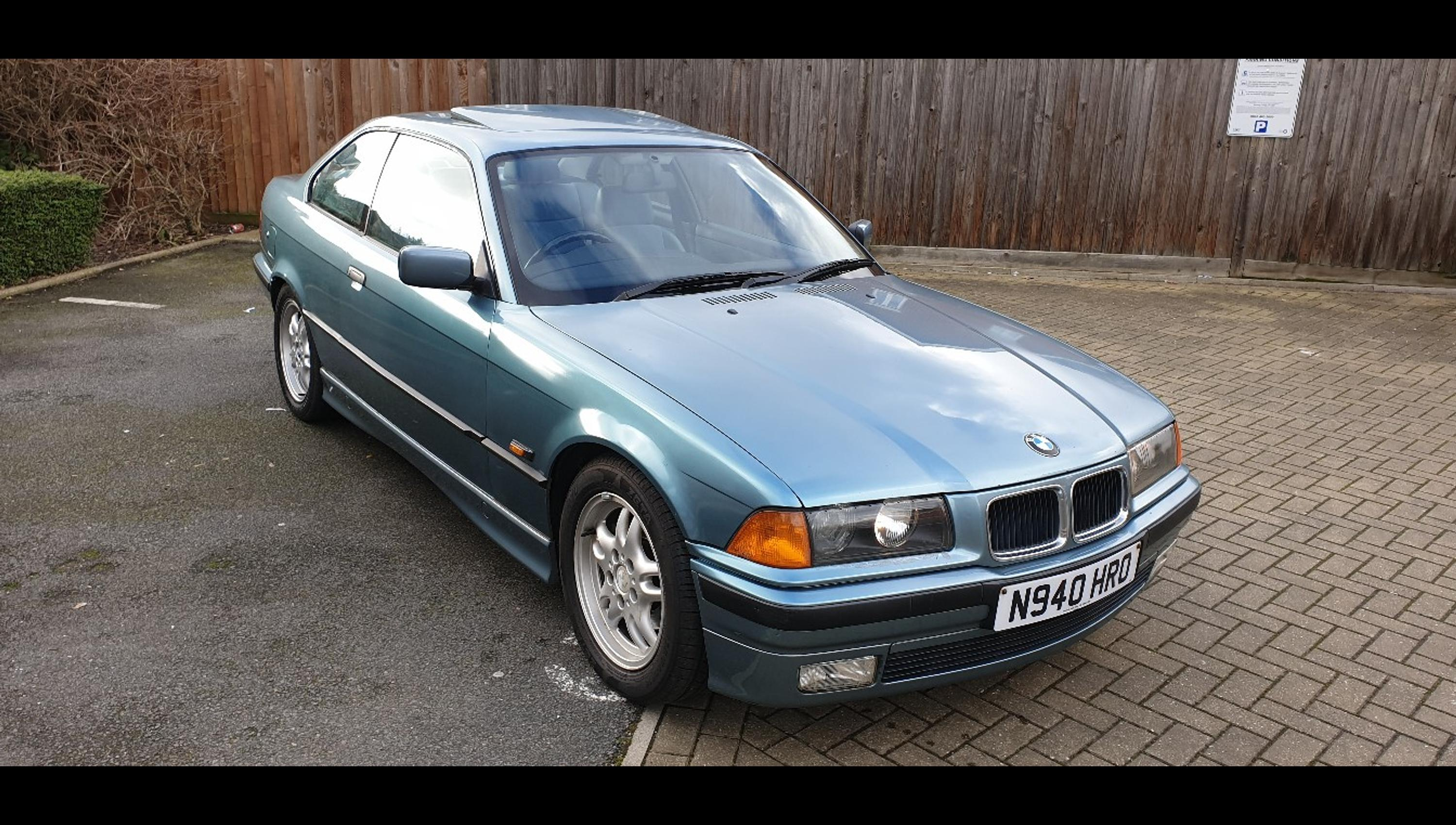 Bmw E36 328i Coupe Morea Green In Nw10 London For 1 100 00 For Sale Shpock