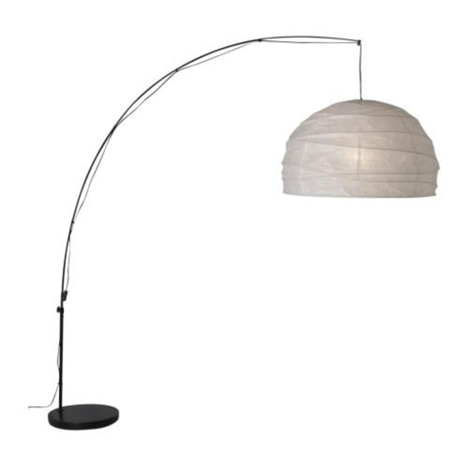 IKEA Regolit bow floor lamp blackwhite