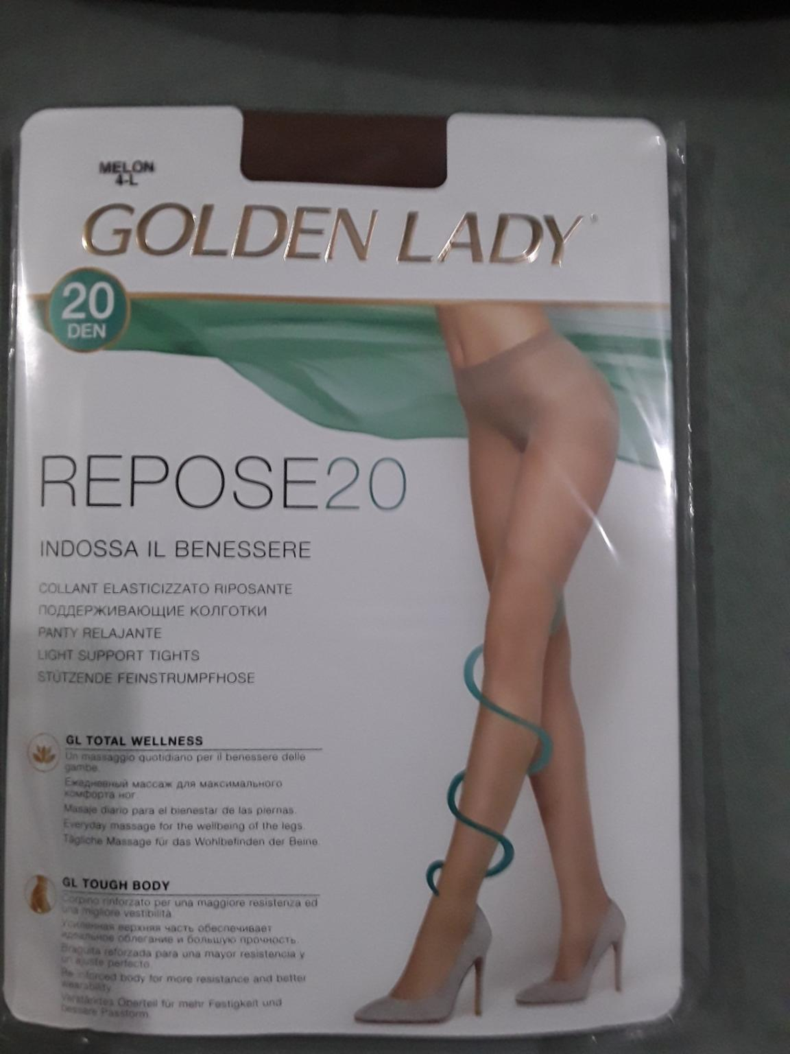 COLLANT DONNA ELASTICIZZATO RIPOSANTE GOLDEN LADY REPOSE 40