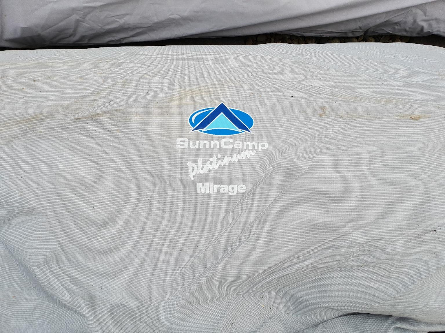 Sunncamp Mirage Awning Size 9 Green 850cm - 8 in Mancot ...