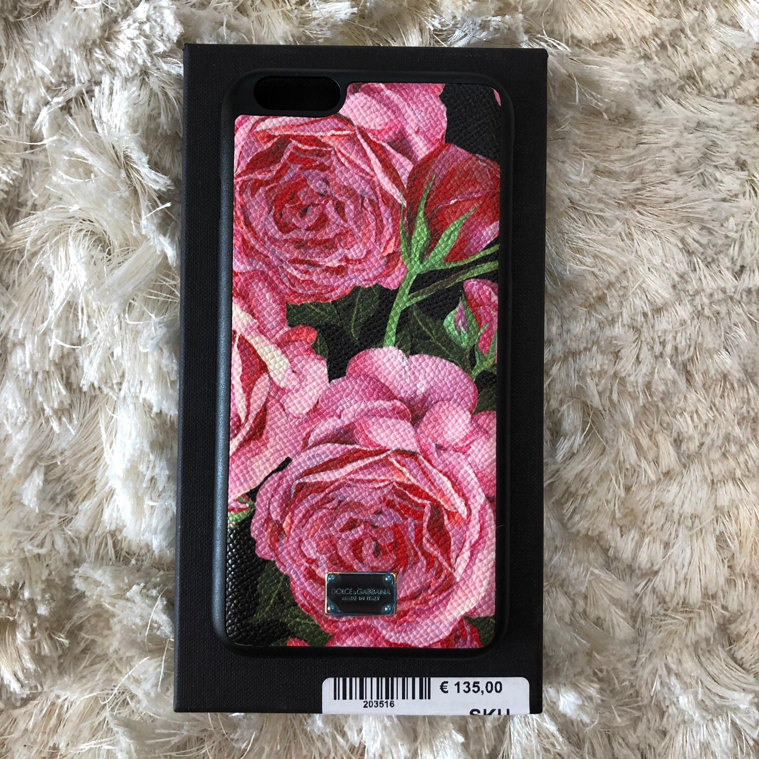 Dolce & Gabbana - Cover iPhone 7 in pelle maculata - custodie e