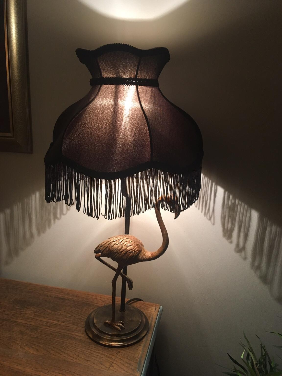 Picture of: Dunelm Flamingo Table Lamp Brass And Black In South Derbyshire For 30 00 For Sale Shpock