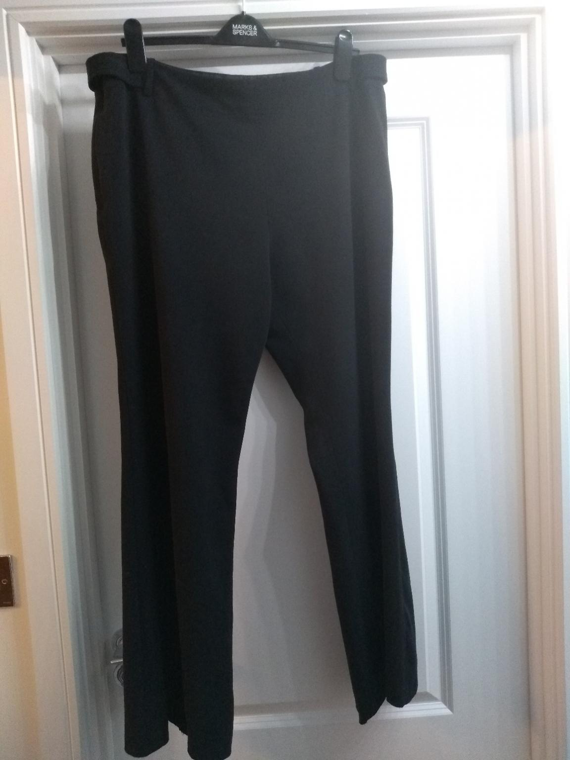 d4231c2cc901d MATERNITY TROUSERS SIZE 18 BLACK in Chorley for £5.00 for sale - Shpock