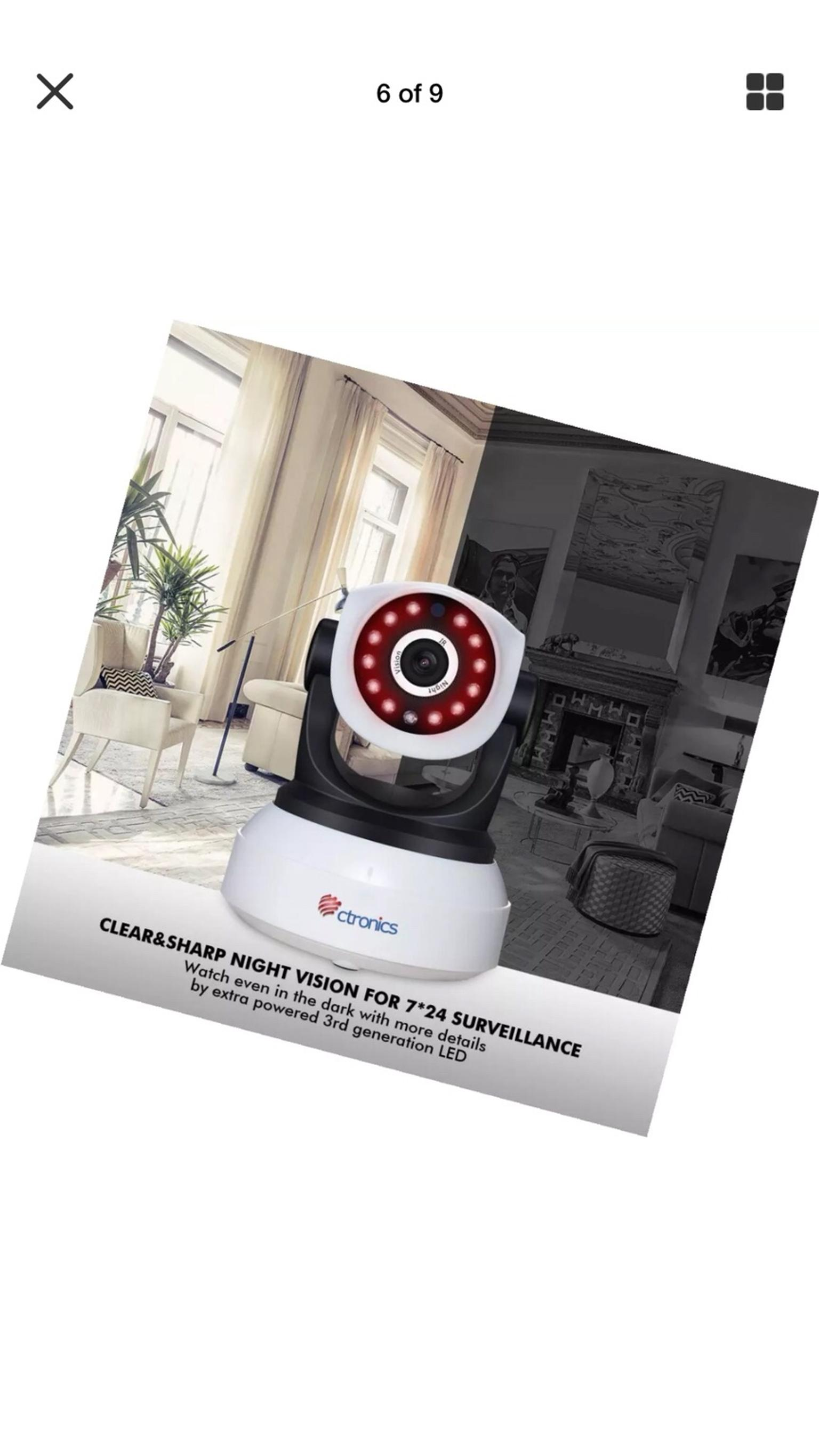 Ctronics IP Home surveillance Camera 1080phd