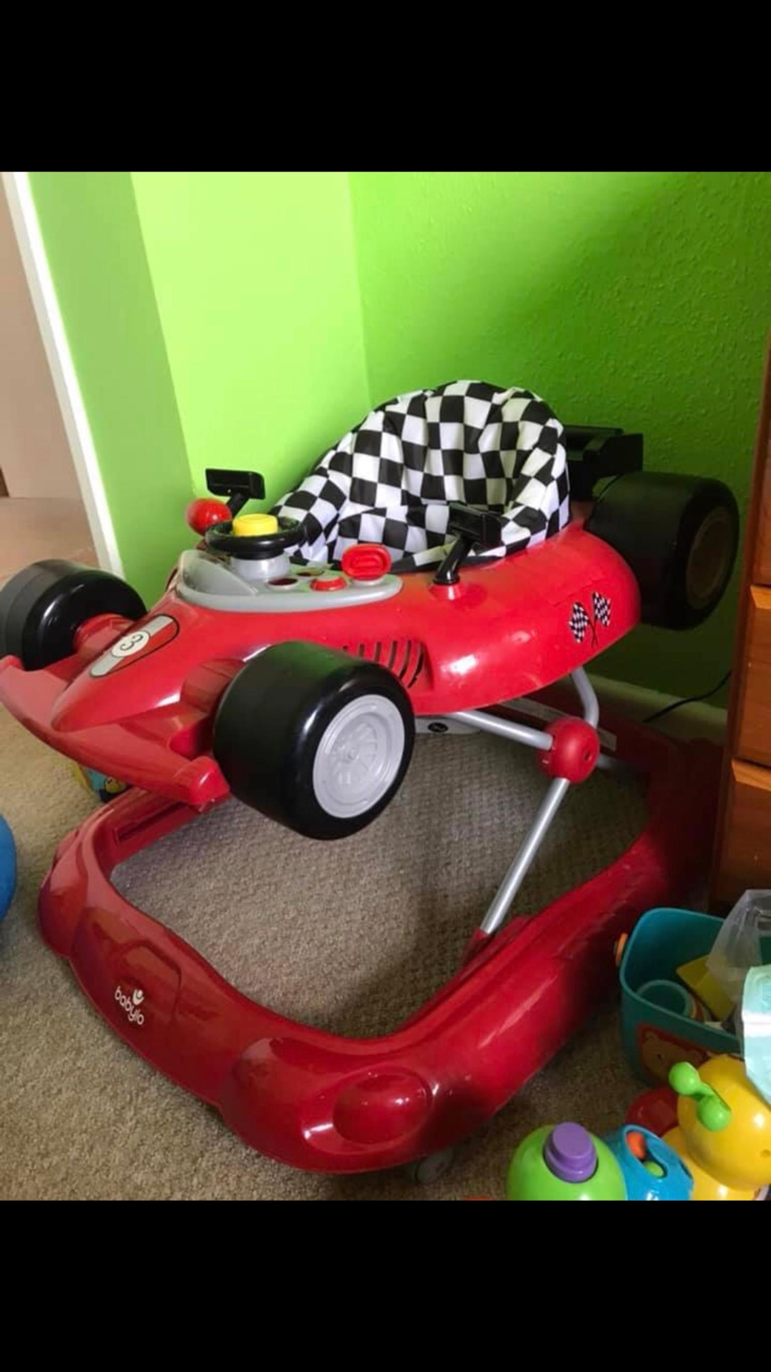 Racing car baby walker. in DT5 Portland for £25.00 for ...