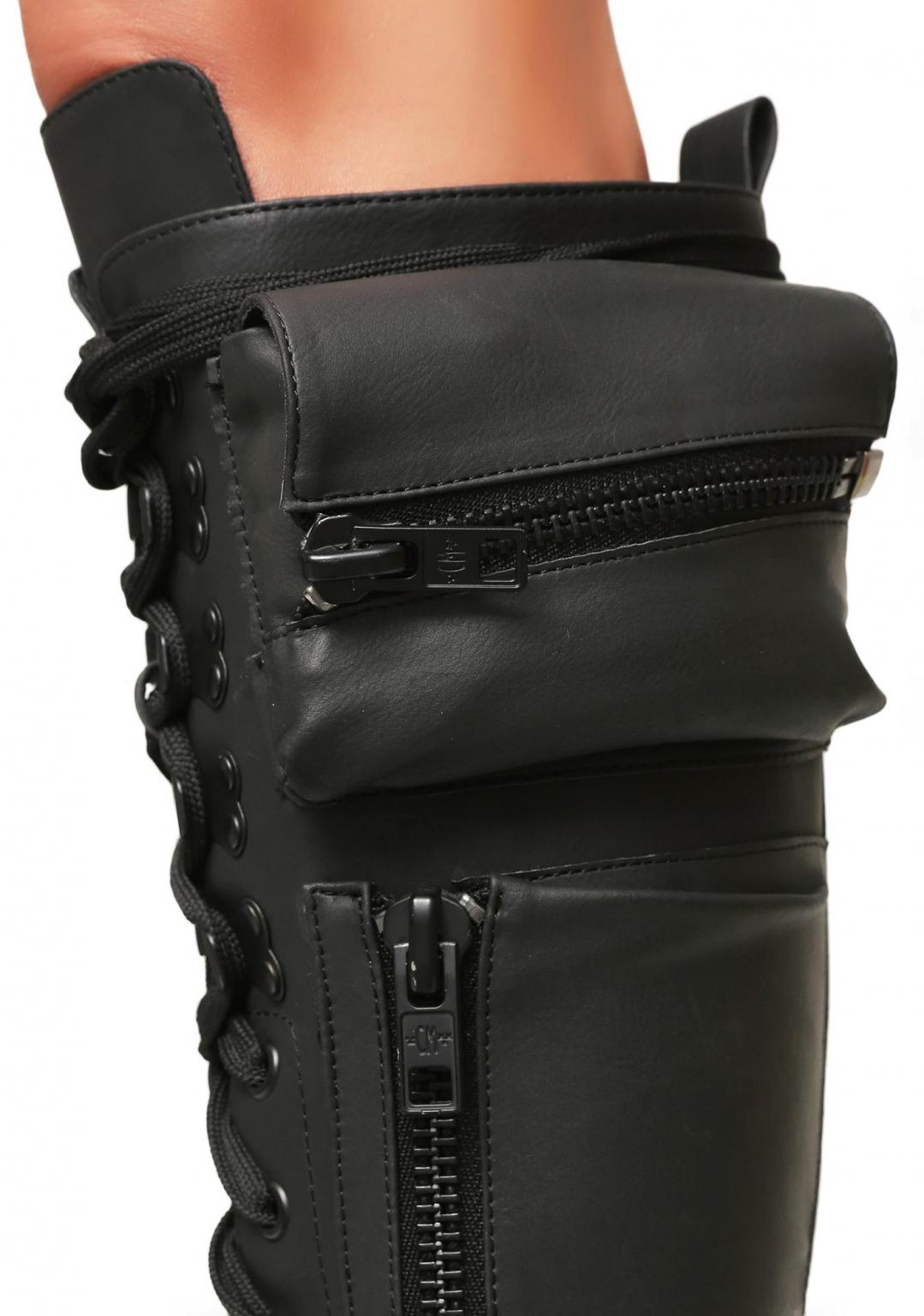8d4a3fe1a7722 Obsidian Pocket Combat Boots UK SIZE 3 in W2 1UU;W2 Westminster for ...