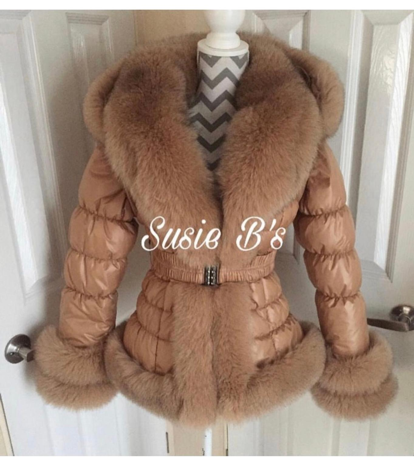 Susie B Romany Fox Fur Coat Camel In Cm14 Brentwood For 163