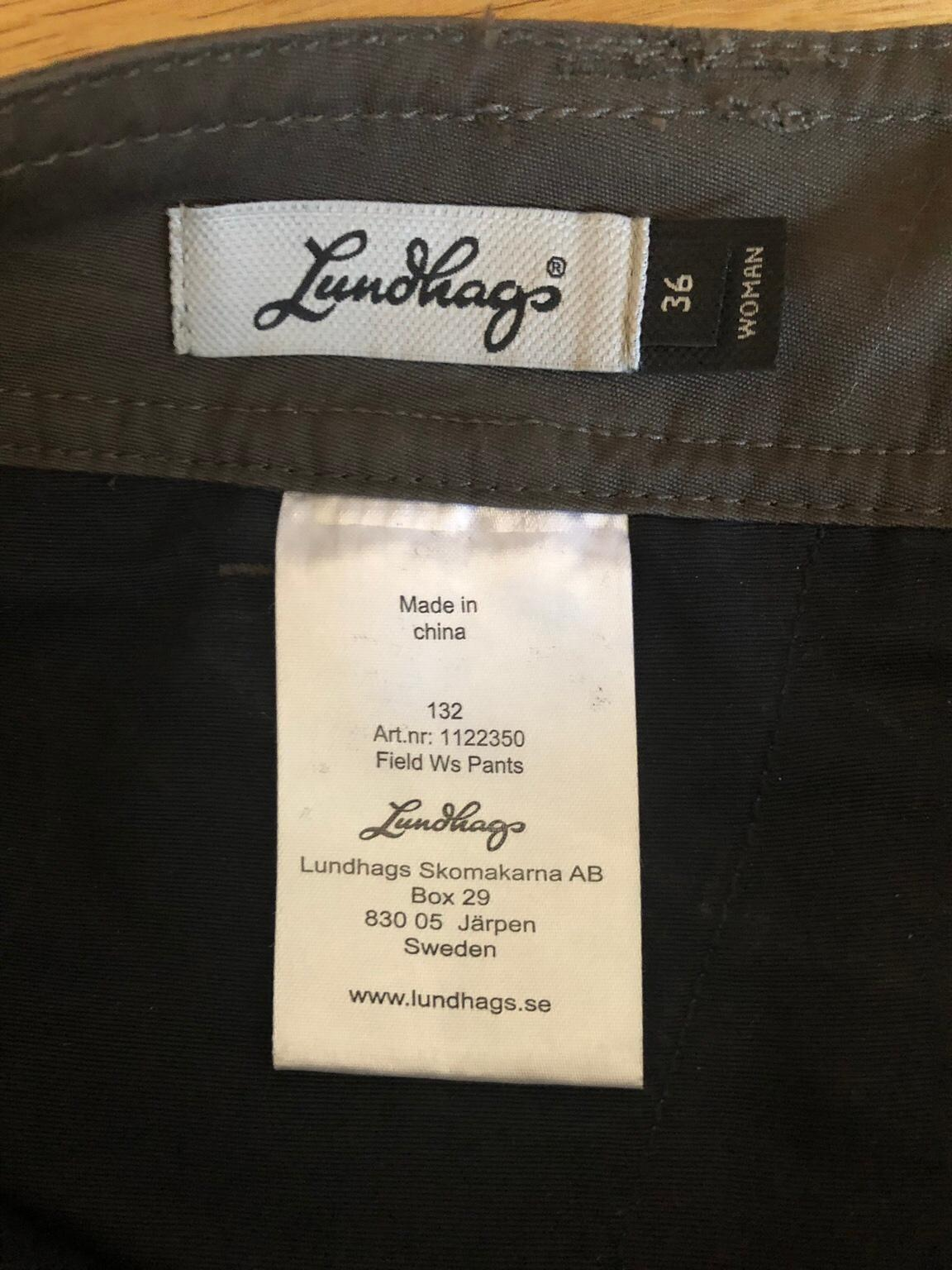 lundhags field pants dam
