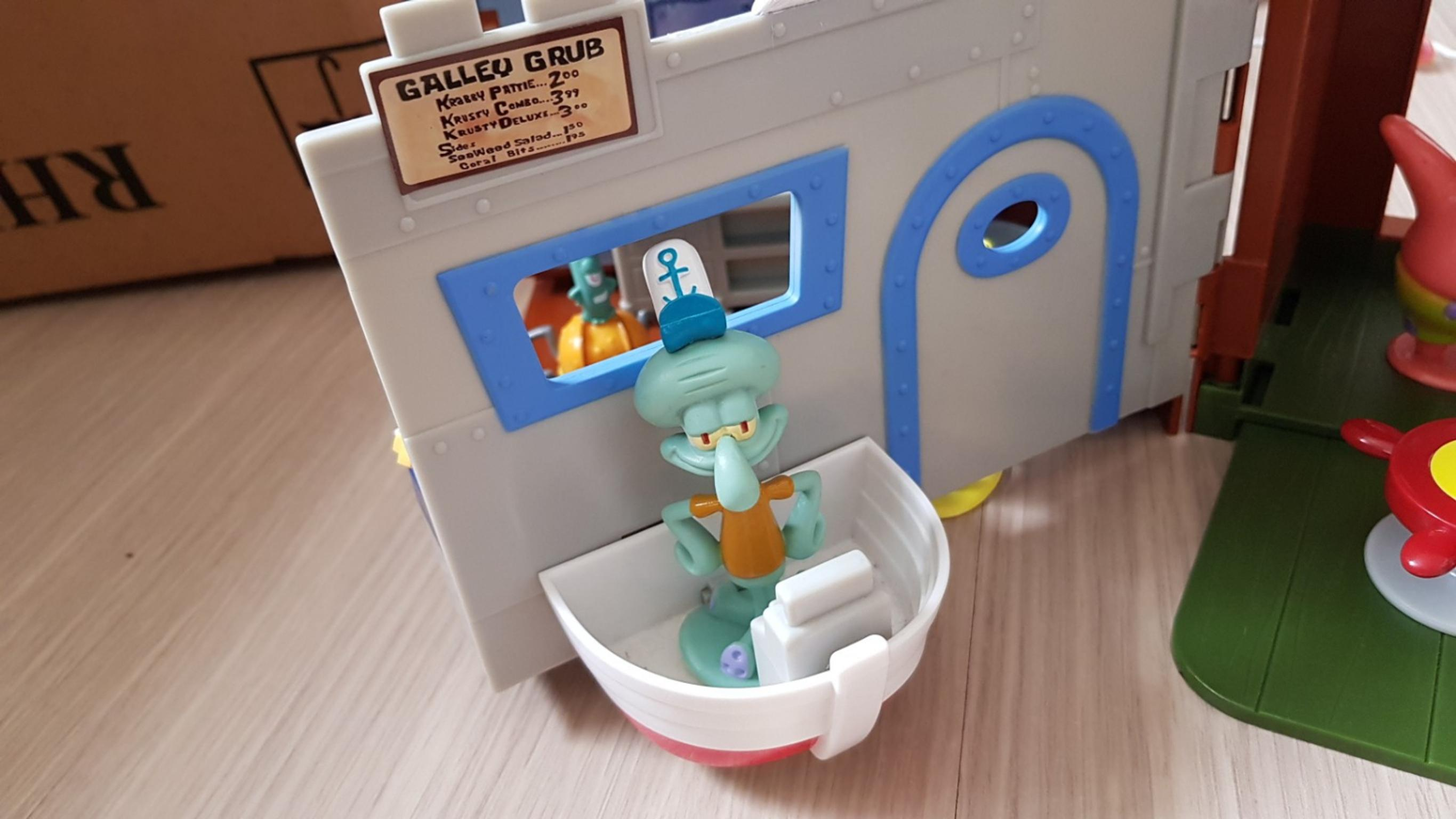 the krusty krab spongebob playset