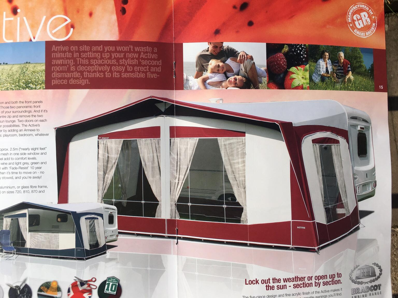 Bradcot Caravan Awning 1005 Cm Alloy Poles In Lichfield For 300 00 For Sale Shpock