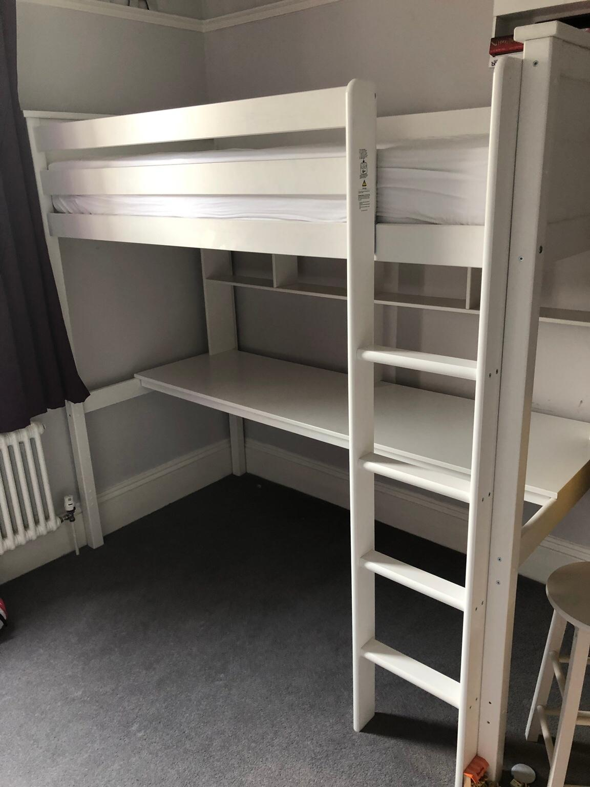 Argos Brooklyn White High Sleeper with desk in SE20 London ...