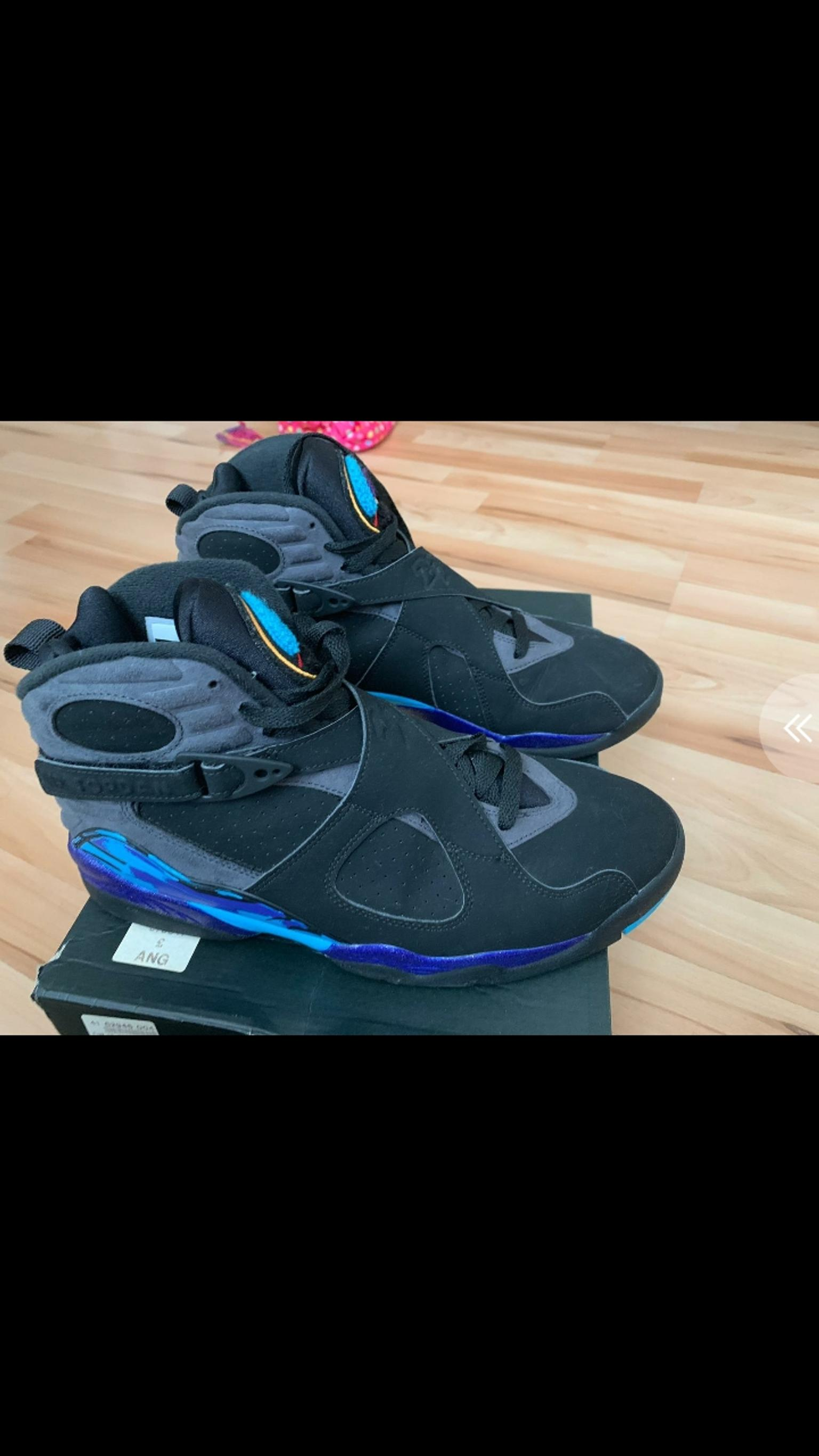 c9d94bfe539e NIKE AIR JORDAN RETRO 8 AQUA UK 8.5 in NG2 Nottingham for £100.00 for sale  - Shpock