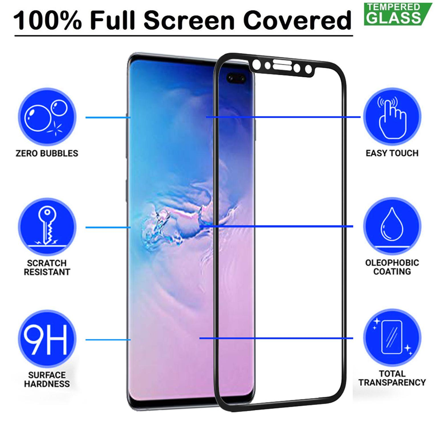 Samsung Galaxy S10 Plus 5D Tempered Glass