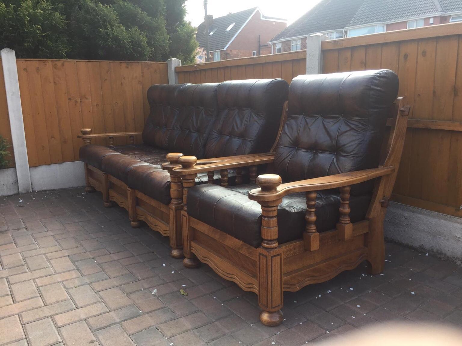 Chesterfield Sofas Vintage Sofa Arm Chair In Walsall For 120 00