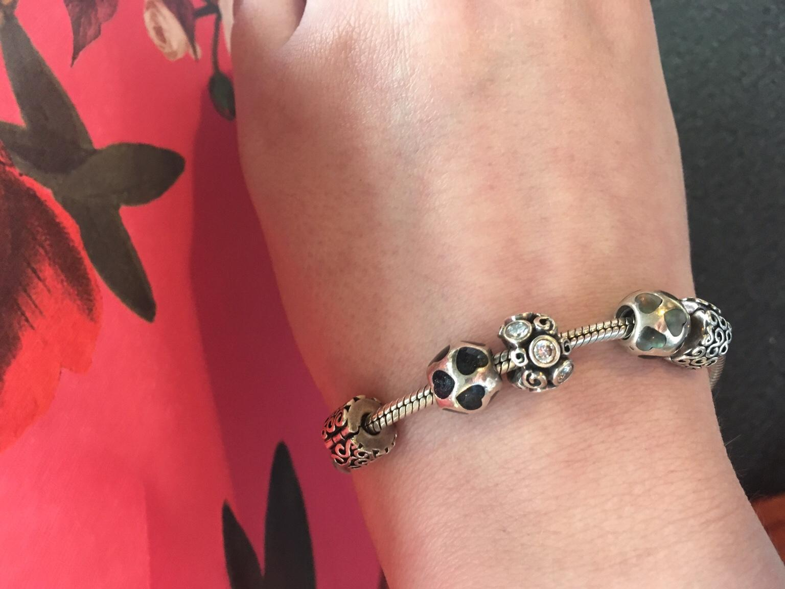 what is a pandora bracelet made of
