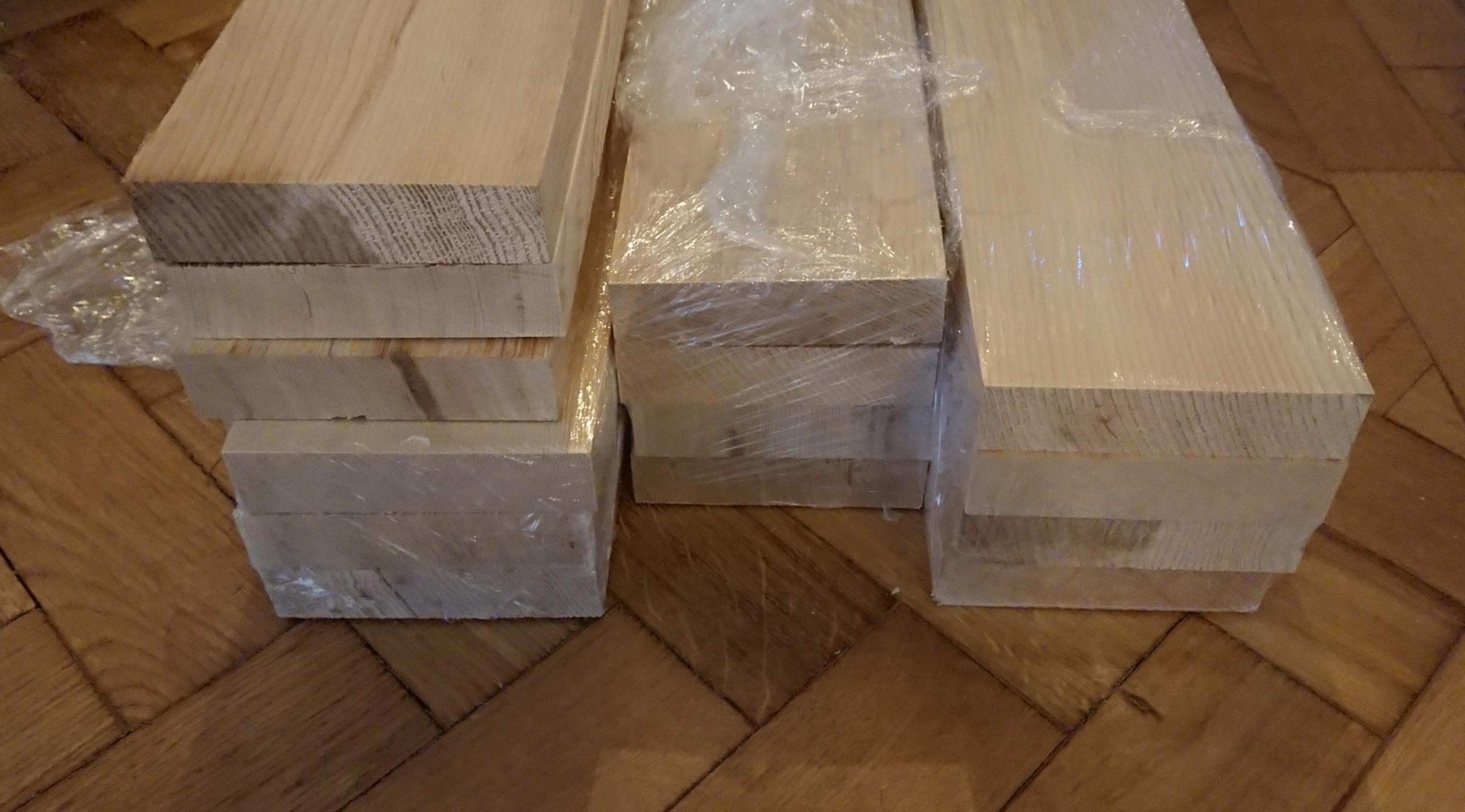 Hemlock Planed Wood 3m Lengths 14