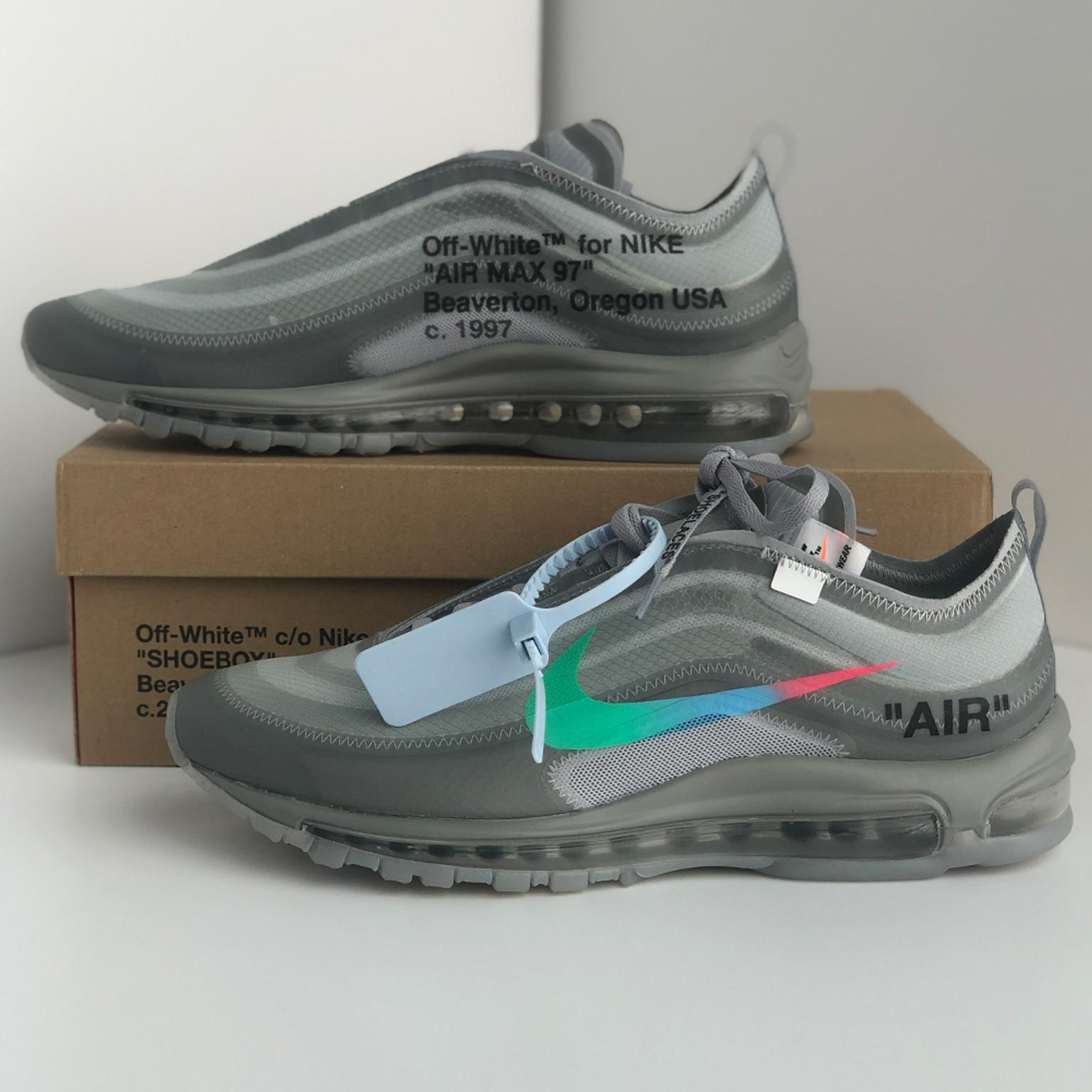 Off-White x Nike Air Max 97 Menta UK 9.5