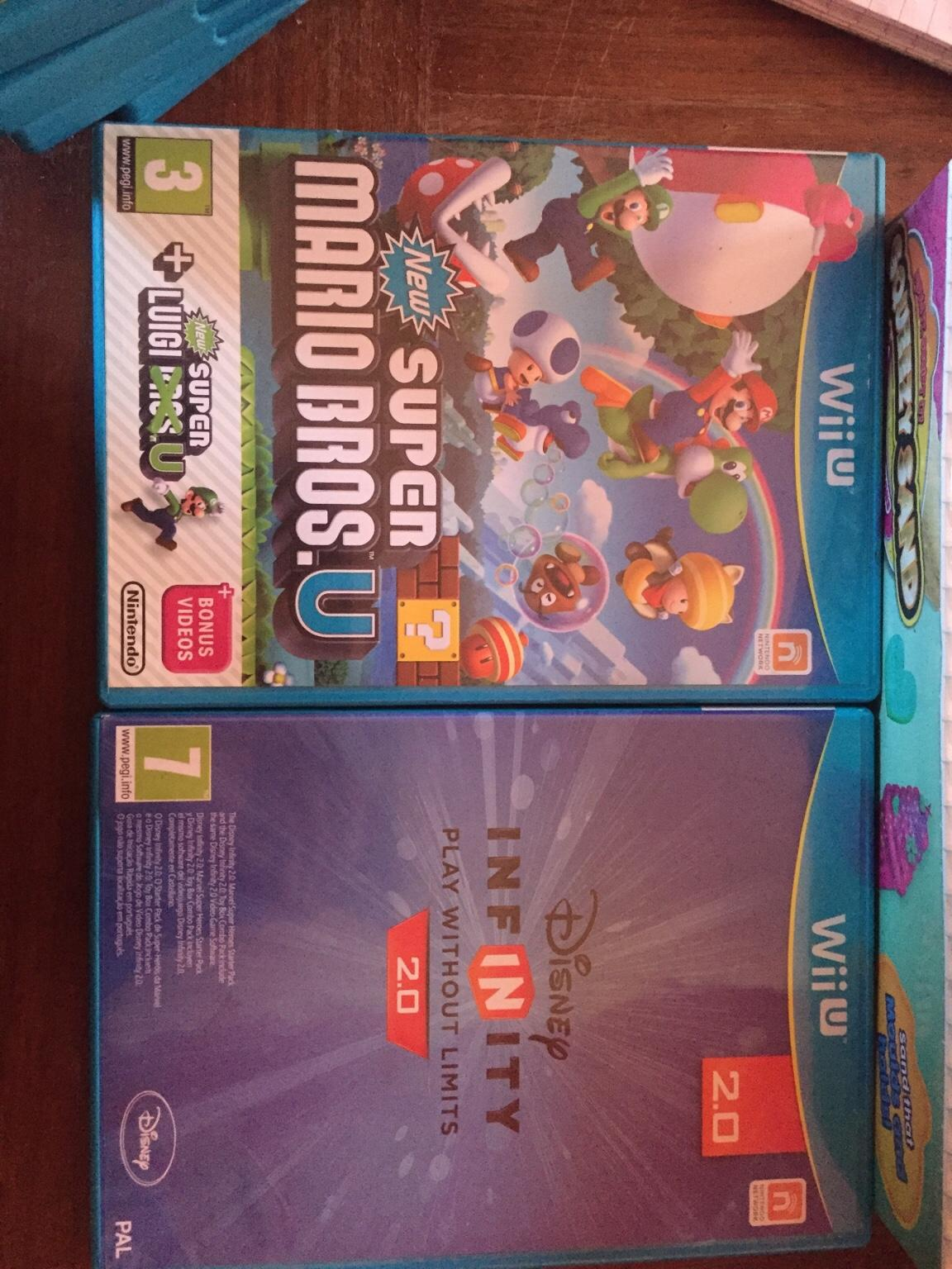 Wii u and Nintendo 3Ds games for sale in West Suffolk for free for