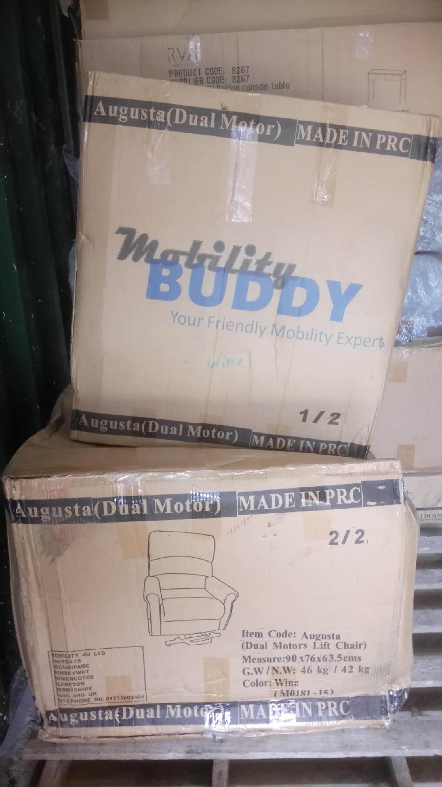 Augusta Dual Motor Mobility Recliner