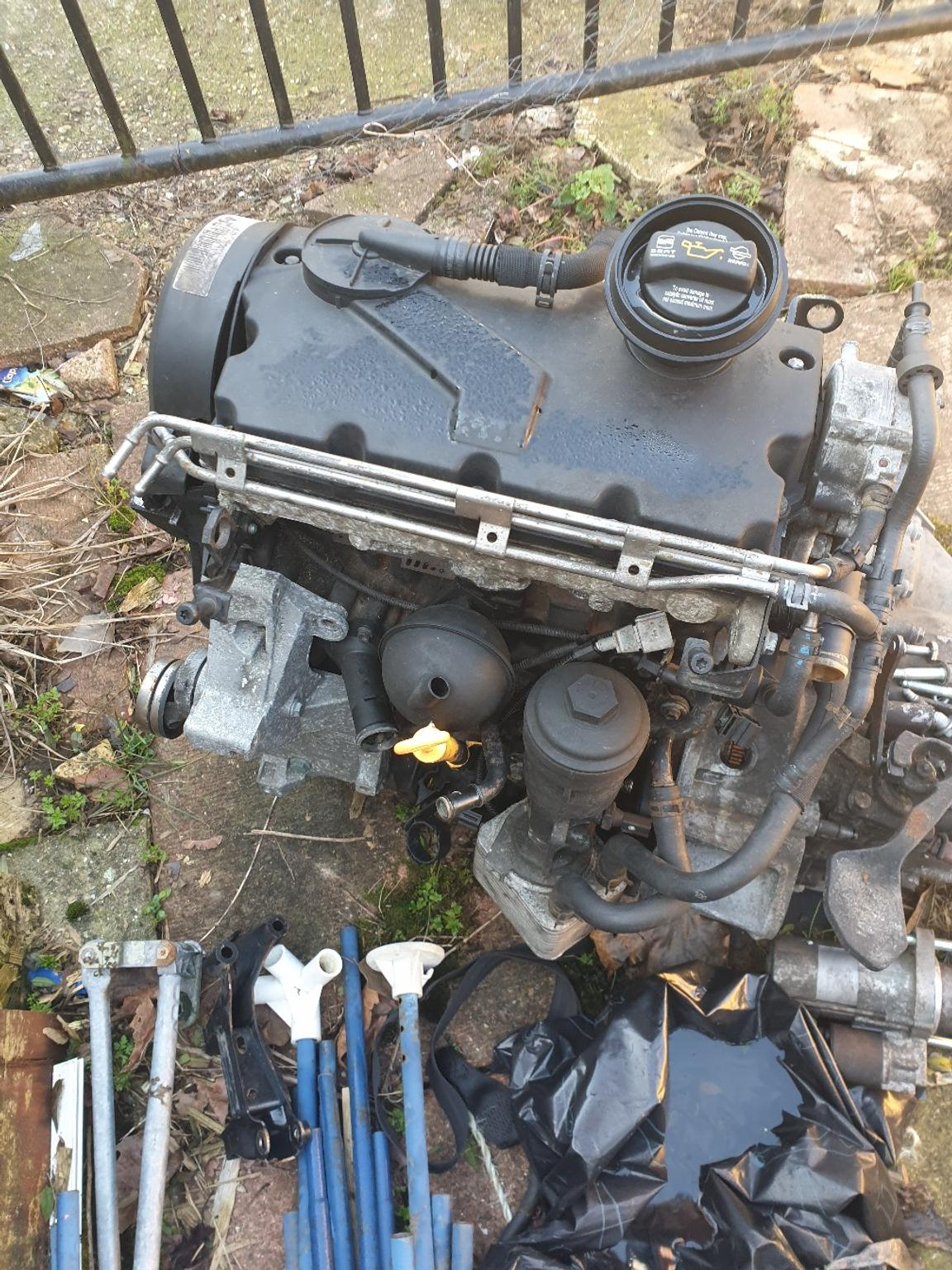 PD130 engine and gearbox asz